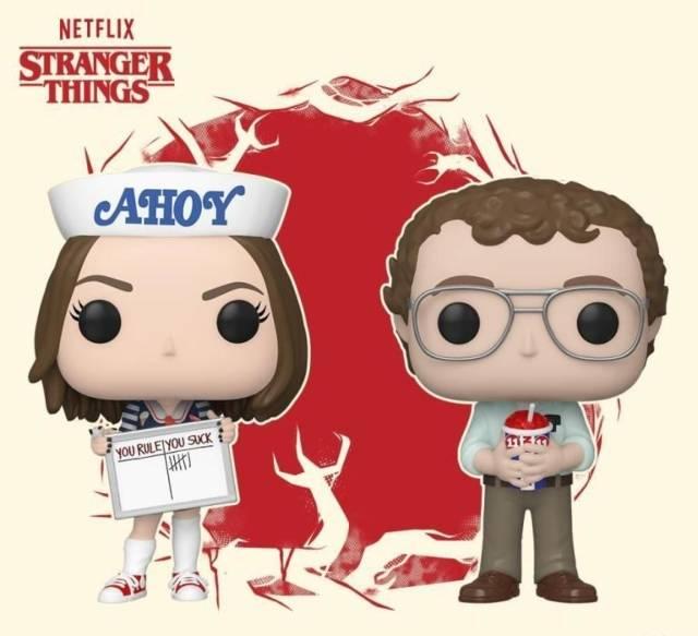 Stranger Things - Funko Pop! Robin e Alexei