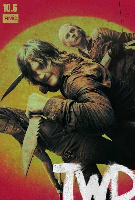 The Walking Dead 10 key art