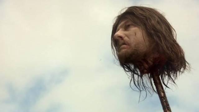 Ned Stark - head - Game of Thrones