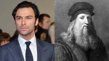 Aidan Turner - Leonardo da Vinci