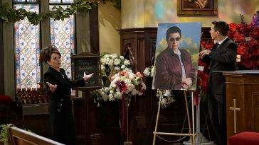 Will & Grace 9x06 - Rosario's Funeral