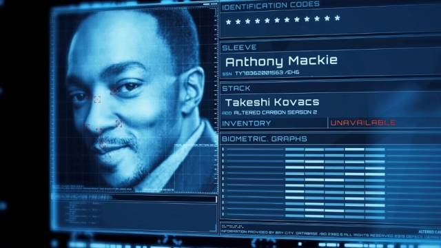 Altered Carbon 2 - Anthony Mackie