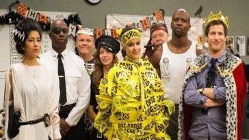 Brooklyn Nine-Nine Halloween Heist