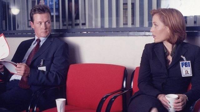 X-Files John Doggett e Dana Scully